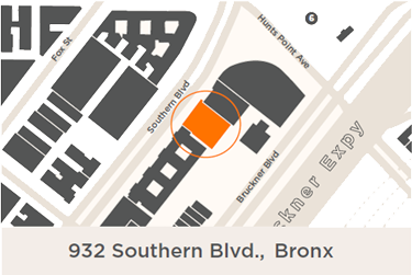 Bronx Docs Southern Blvd Map